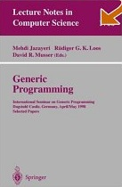 image of generic programming book