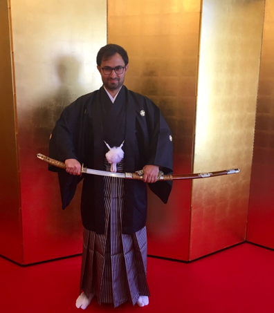 Kimono Ceremony held at Keio Plaza Hotel